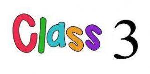 CLASS 3 (THREE)