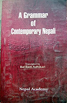 A Grammar of Contemporary Nepali